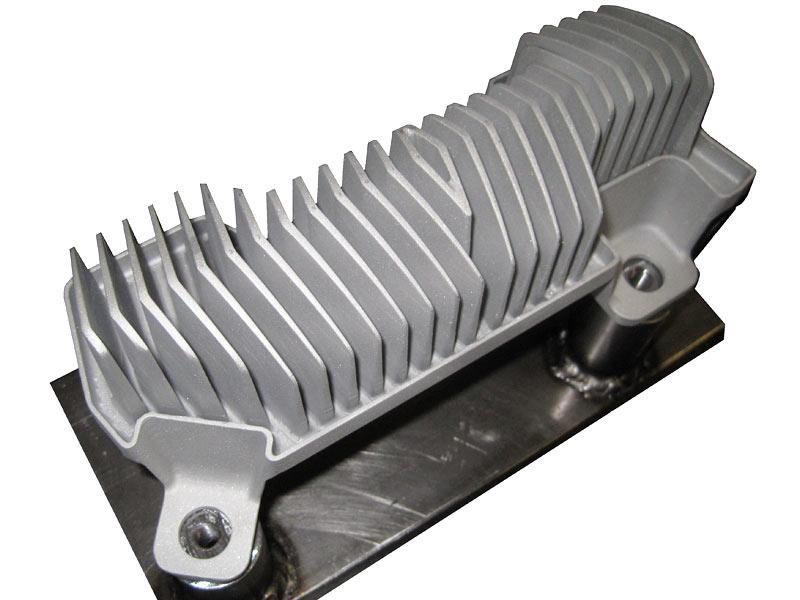 Disipador de calor en aluminio