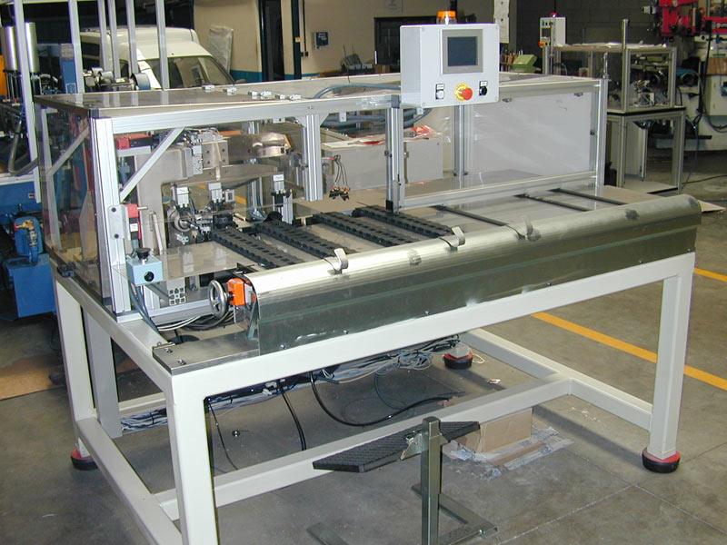 Manipulador tubos de cobre