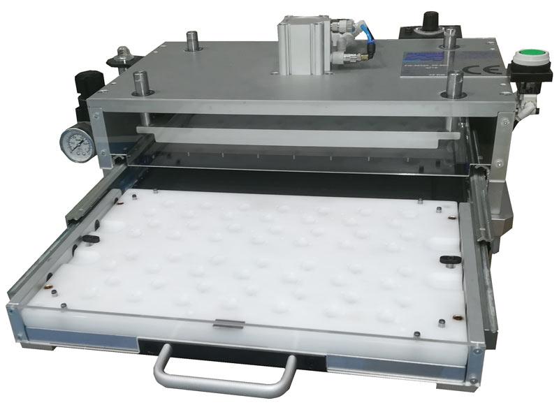 Útil Montaje pulsadores PCB